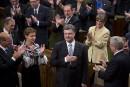 À Ottawa, le président Porochenko salue l'appui du Canada