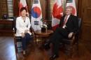 Stephen Harper accueille la présidente de la Corée du Sud