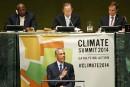 Barack Obama réclame un accord ambitieux sur le climat