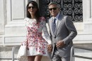 L'audacieuse mini-robe d'Amal Clooney