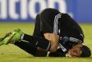Ronaldo touché en fin de match et «inquiet»