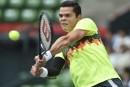 Milos Raonic avance en quarts de finale au Japon