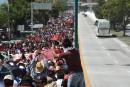 Mexique: des milliers de manifestants pour les étudiants disparus
