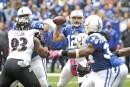 Andrew Luck et les Colts défont les Ravens
