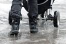 Accueil froid à Québecpour des trottoirs chauffants