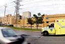 Fuite de gaz derrière l'Hôpital l'Enfant-Jésus