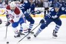 Un but chanceux de Plekanec fait gagner le Canadien 4-3 à Toronto