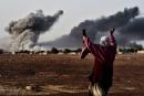 Les djihadistes de l'EI au centre de Kobané