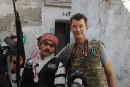 L'EI diffuse une vidéo d'un otage à Kobané