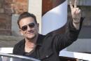 Bono ne quitte pas ses lunettes en raison d'un glaucome