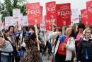 CSQ: 4e journée de grève des services de garde en milieu familial