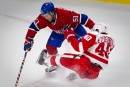 Red Wings 1 - Canadien 2 (prolongation)