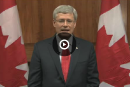 Le Canada ne se laissera pas intimider, dit Stephen Harper