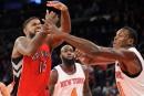 Des retrouvailles pour les Raptors et les Knicks à Montréal