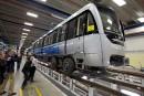 La production des voitures de métro Azur suspendue six mois