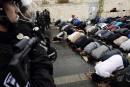 Prière sous haute tension en Palestine