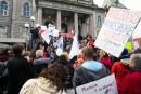 Dans la rue contre l'austérité