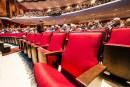Salle Maurice-O'Bready: nouveaux sièges, même visage