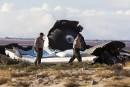 La cause de l'écrasement de SpaceShipTwo aurait été identifiée