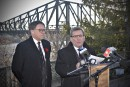 Pont de Québec: bras de fer entre les maires et le CN