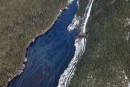 Déraillement sur la Côte-Nord: feu vert pour les plongeurs