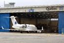 Le nouvel avion-hôpital freiné par la pluie et la neige