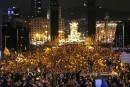 Catalogne: les indépendantistes dans la rue