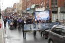 Des milliers de personnes dans la rue contre la hausse des frais de garderie