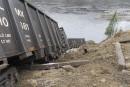 Déraillement au nord de Sept-Îles: mystère autour des feux de circulation du chemin de fer