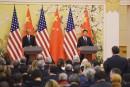 Le président chinois et la presse américaine
