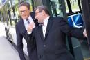 Labeaume et Lehouillier vont prendre l'autobus en Belgique