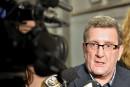 Labeaume ravi que les actions politiques dérangent le CN