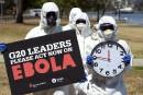 Le G20 s'engage à «éradiquer» l'épidémie d'Ebola