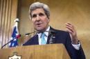 La «barbarie» de l'EI «ne nous intimide pas», dit Kerry