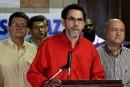 Les FARC disposées à résoudre l'«impasse» des pourparlers de paix