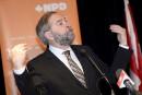 Les néo-démocrates en avance au Québec, selon la firme CROP