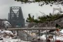 Pont de Québec: le CN se plaint du déglaçage depuis 1955