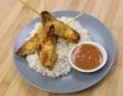 Chanhda cuisine asiatique: satays et sauce aux arachides
