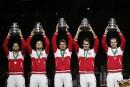 Roger Federer et les Suisses remportent la Coupe Davis