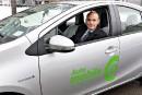 Autos en libre-service: Communauto veut aussi une place
