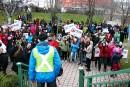 Plus de 300 manifestants pour défendre le Cégep de Matane