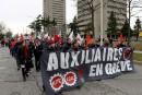 Les employés de l'Université Laval dénoncent les compressions