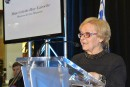 La mairesse de Lac-Mégantic de passage à Québec