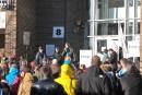 Manifestations contre les coupes au collégial