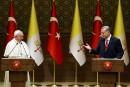 Le pape appelle la Turquie à promouvoir le dialogue interreligieux