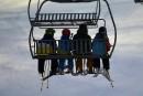 La météo ralentit les ardeurs des skieurs