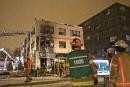 Autre incendie à La Cantina, un restaurant identifié à la mafia