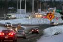 Autoroute 410: nouvelle signalisation coin Belvédère et College