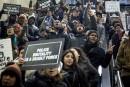 Bavures policières: manifestations de New York à Oakland