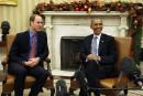 Obama reçoit le prince William